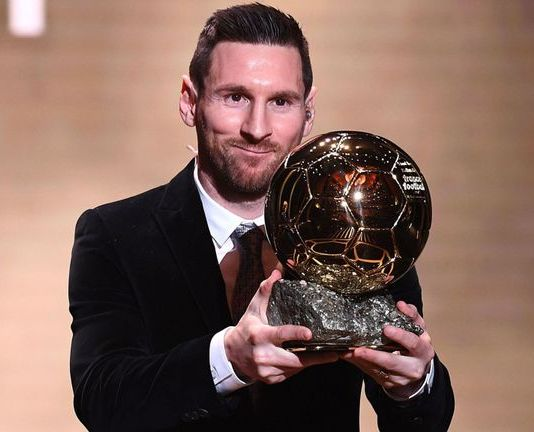 lionel messi ballon d'or 2019