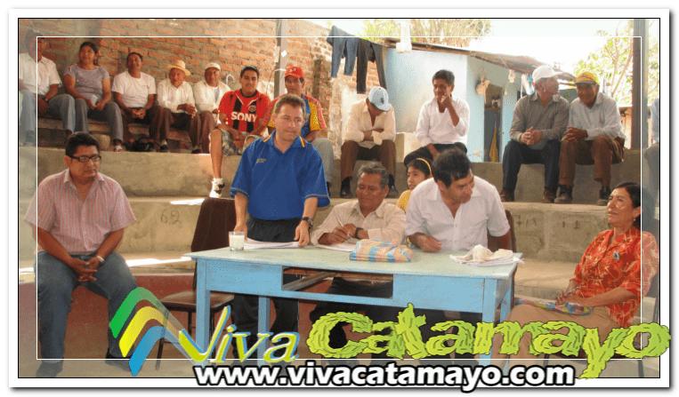 Seguro Social Campesino de El Tambo se reúne con el Alcalde de Catamayo