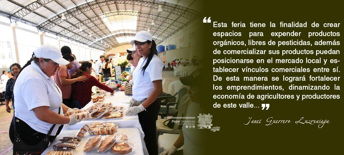 """Inauguración de la Feria Agroecológica """"Yo Prefiero Catamayo"""""""