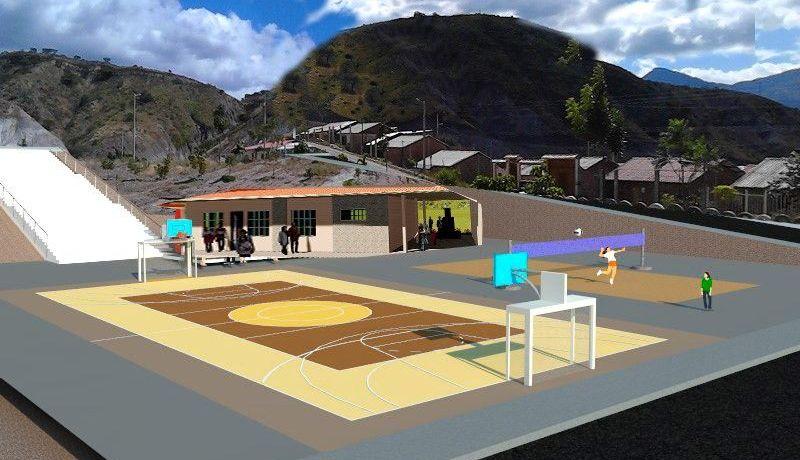 Se socializa estudios para Casa comunal, canchas deportivas, áreas infantiles y áreas verdes con ciudadanos de Santo Domingo de Guzmán