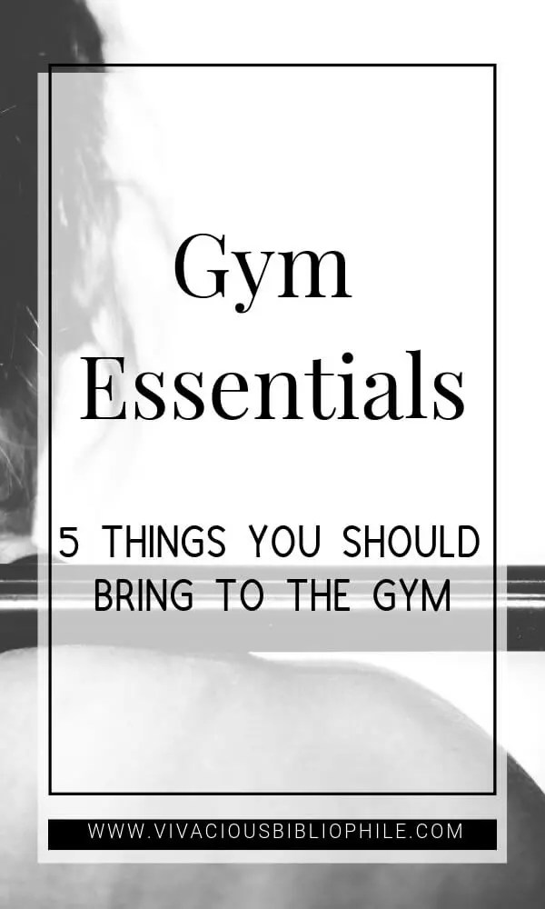 Things You Should Bring To The Gym