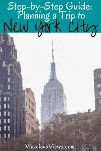 Planning a Trip to New York City. Vivacious Views. Pinterest
