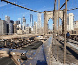 Must Do in New York City. Brooklyn Bridge. Vivacious Views