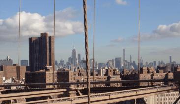 October Trip to New York. Brooklyn Bridge. Vivacious Views