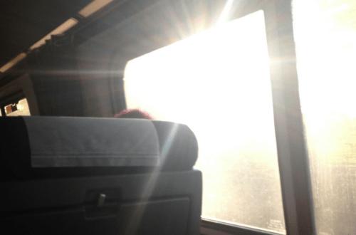 Train to New York City. Vivacious Views. Travel Blog