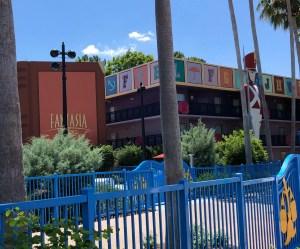 All-Star Movies Resort. Vivacious Views. Fantasia Area