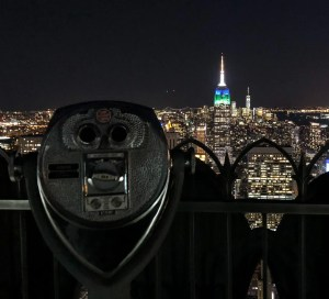 April Trip to New York City. Top of the Rock View. Vivacious Views
