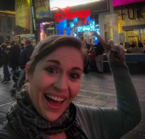 Times Square Disney Store. Britt. Vivacious Views