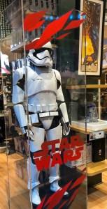 Times Square Disney Store. Stormtrooper. Vivacious Views