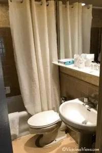 Wellington Hotel. Bathroom. Vivacious Views