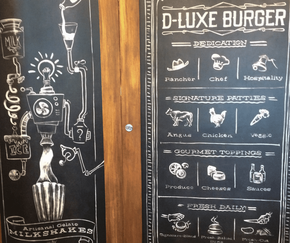 D-Luxe Burger. Disney Springs. Vivacious Views. Blog