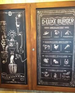 D-Luxe Burger. Picture. Vivacious Views