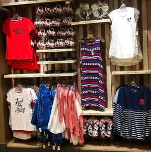 Memorial Day at Disney World. Americana Merch. Vivacious Views