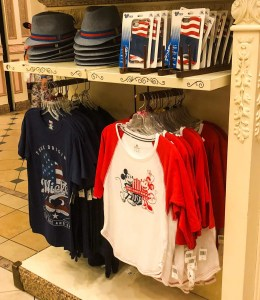 Memorial Day at Disney World. Americana Mickey Merch. Vivacious Views