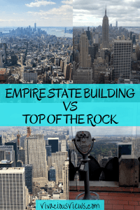 Empire State Building vs Top of the Rock. Vivacious Views. Pinterest