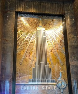 Empire State Building. Entrance. Vivacious Views