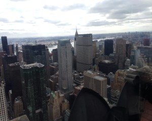 Top of the Rock. Chrysler Building. Vivacious Views