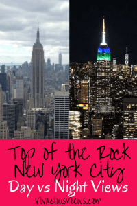 Top of the Rock. Vivacious Views. Pinterest