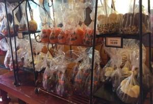 Halloween and Fall Favorites at Disney World. Candy Cauldron. Candy Apples. Vivacious Views