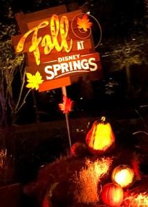 Halloween and Fall Favorites at Disney World. Disney Springs Decor. Vivacious Views