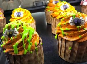 Halloween and Fall Favorites at Disney World. Spider Cupcake. Vivacious Views