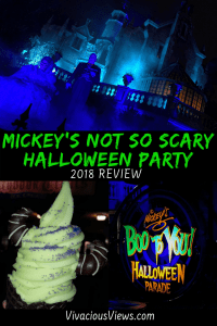 Mickey's Not So Scary Halloween Party 2018. Vivacious Views. Pinterest