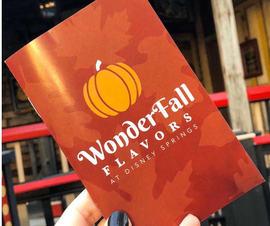 WonderFall Flavors Passport. Vivacious Views. Disney Blog