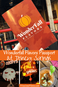 Wonderfall Flavors Passport at Disney Springs
