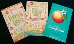 2019 Epcot Flower and Garden Festival. Passports. Vivacious Views