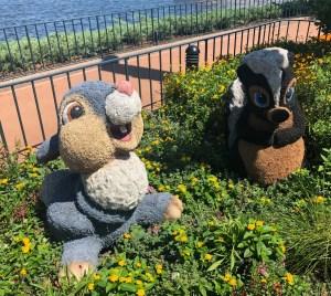 2019 Epcot Flower and Garden Festival. Thumper. Vivacious Views