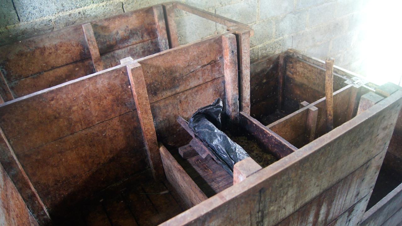 Cajones de fermentación