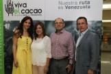 Con grandes amigos, Ligia Paredes y Santos Prada