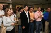 El Plan Cacao de Nestlé también estuvo presente en nombre del ingeniero José López. Armando Parra, de Chococao, Jean Carlos Pinto de Sur del Lago y otros presentes.