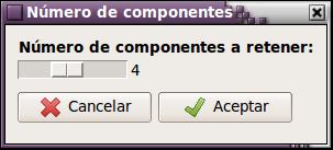 4 componentes principales