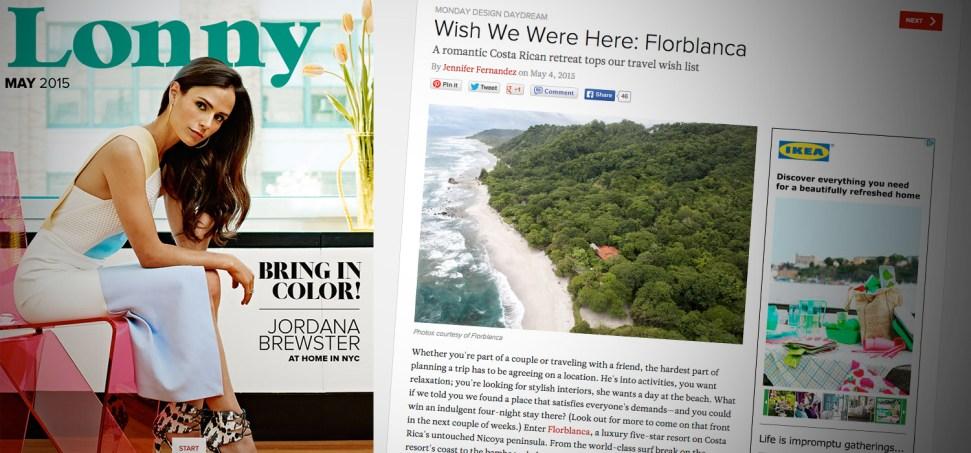 Lonny Magazine, Florblanca Resort