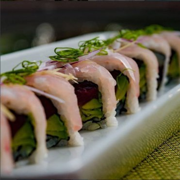 Red Snapper Sushi Roll