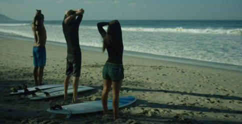 Warming up to surf