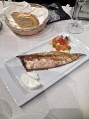Beautifully cooked Mackerel