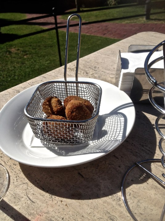 Ox tail croquettes