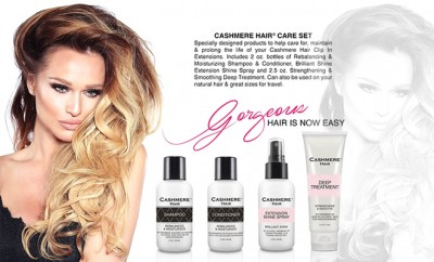 CASHMERE HAIR CARE SET