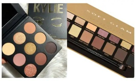 Is Kylie Jenner's 'Sorta Sweet' Palette a Copy of Anastasia Beverly Hills's Soft Glam Palette?