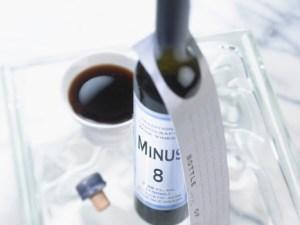 MINUS 8 Ice Wine Vinegar CANADA on tray