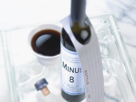 MINUS 8 Ice Wine Vinegar CANADA on tray