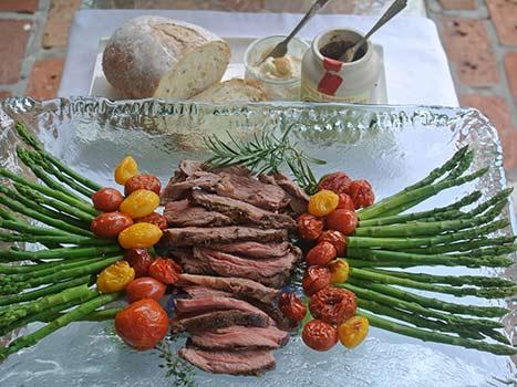 lamb sirloin sandwich