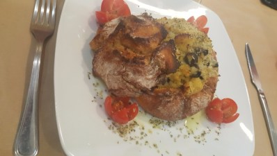 Bacalhau com Broa | Cod with Cornbread