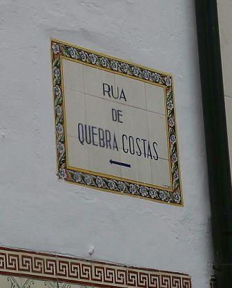 Rua de Quebra Costas