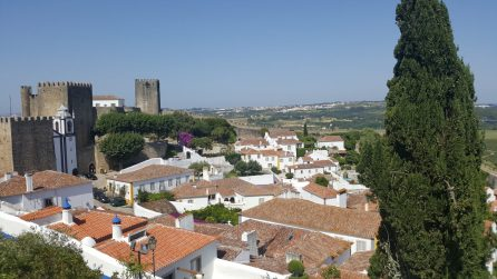 Óbidos - View from top of walls | Vista da muralha