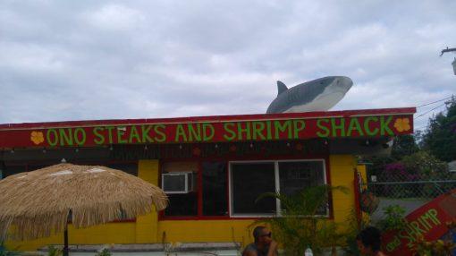 Ono Steaks and Shrimp