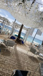 View from Beach Bar   Vista do bar da praia - Catalonia Royal La Romana