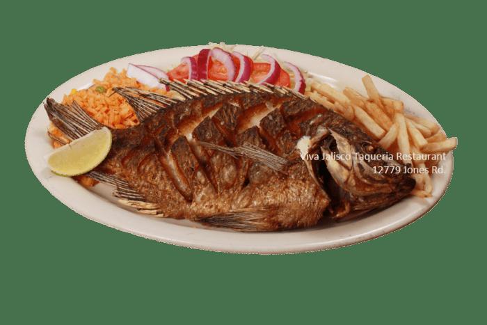 Mojarra Frita - Viva Jalisco Restaurant